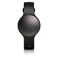 Misfit Shine 2 Smart Activity Tracker - Wrist - Accelerometer, Magnetometer - Alarm, Text Messaging - Calories Burned, Sleep Quality - Touchscreen - Bluetooth - Bluetooth 4.1 - 4382.91 Hour - Carbon Black - Anodized Aluminum, Thermoplastic Polyurethane (t Sh2bz