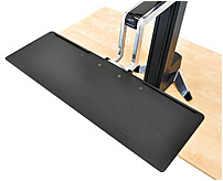 Ergotron 97-653 Large Keyboard Tray For Workfit-s - Black