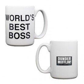 The Office World's Best Boss - Dunder Mifflin Coffee Mug