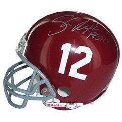 Shaun Alexander Alabama Mini Helmet