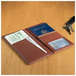 Leather Ticket and Passport Holders