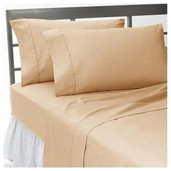 1000TC 100% Organic Cotton Solid California King Size 5PC Sheet Set