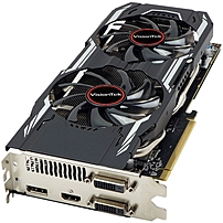 P 3The VisionTek Radeon trade  R9 380X is a factory overclocked graphics card that was designed to play the most demanding games from 1080p all the way to 4K resolution