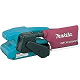 Makita 9911 5.6 Amp 3-Inch by 18-Inch Variable Speed Belt Sander with Cloth Dust Bag (Discontinued by Manufacturer)