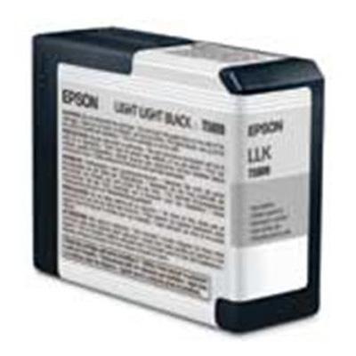 Epson T580900 T5809 - 80 Ml - Light Light Black - Original - Ink Cartridge - For Stylus Pro 3800  Pro 3880