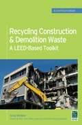 A Complete Reference on Construction Waste Recycling This GreenSource guide offers comprehensive information on how to recycle as much as 95 percent of new construction and demolition waste, reuse existing materials, and comply with U.S