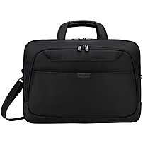 """Targus Blacktop Deluxe Tbt275 Carrying Case (briefcase) For 17"""" Notebook - Black - Shock Absorbing, Weather Resistant - Checkpoint Friendly - Handle, Shoulder Strap, Trolley Strap"""