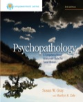 Written by social workers, PSYCHOPATHOLOGY views mental disorders through the strengths-perspective