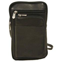 Piel Personalized Leather Travel Organizer
