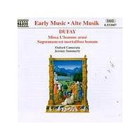 Guillaume Dufay - Missa Lhomme Arme (Oxford Camerata, Summerly) (Music CD)