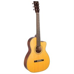 Studio Series Size 00 Acoustic Guitar with Cutaway - Recording King - RP2-626-C
