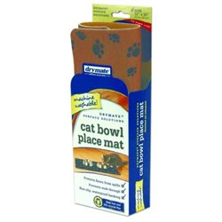 Drymate Cat Bowl Place Mat, Tan, 1 mat