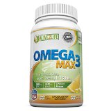 Best Omega-3 Fish Oil Supplements | Top Quality Omega 3 Fatty Acids Pills For Max Fish Oil Health Benefits - 60 High Dosage, Molecularly Distilled, Burpless 1500mg Soft Gel Capsules Per Bottle (1 Month Supply) - Good Omega 3 Source With 600mg DHA & 800mg EPA In Every Serving To Support Your Weight Loss Program, Maintain Brain Health And Counteract Joint Pain, Heart Disease & Inflammation *BONUS* FREE eBook From Alive2Life (Valued At $14.97)