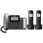 Panasonic KX-TG9582B-N 2 Handset Corded / Cordless (2 Line)