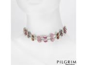 PILGRIM SKANDERBORG, DENMARK Crystal Necklace
