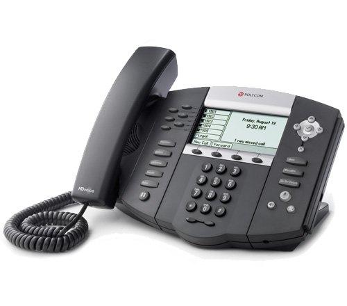 Polycom 2200-12651-025 SoundPoint IP 650 PoE Display Phone
