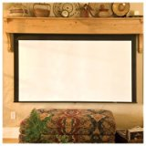 Silhouette/Series M Radiant Electric Projection Screen Size/Format: 92