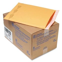 Sealed Air 10189 Cushioned Mailer Size 4 9-1/2inx14-1/2in 25/CT Kraft
