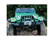 Fab Fours Jp97-b1452-1 Lifestyle Winch Bumper With Grille Guard By Fab Fours