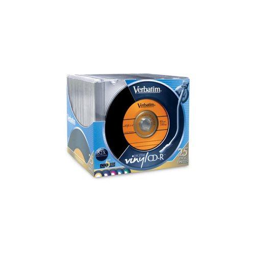 Verbatim Digital Vinyl 16x CD-R Media - 700MB - 25 Pack