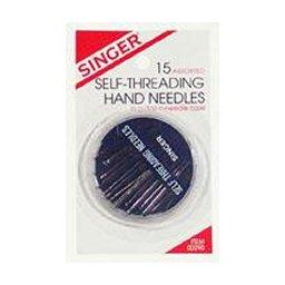 SINGER Self-threading Hand Needles