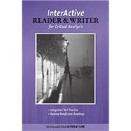 Mcdougal Littell Literature : The Interactive Reader And Writer For Critical Analysis W/ Added Value British Literature