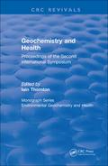 Geochemistry And Health (1988)