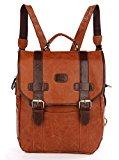 Aibag Real Vintage Leather Women's Decent Briefcase Messenger Bag School Bag