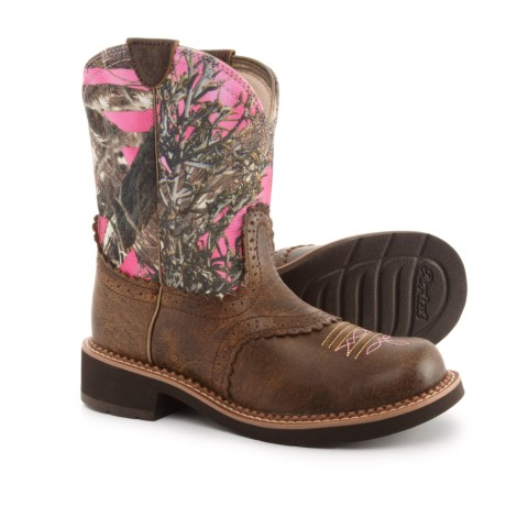 Fat Baby Heritage Cowboy Boots - 8?, Round Toe (for Women)