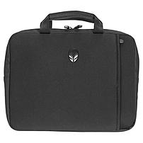 "Mobile Edge Alienware Vindicator Carrying Case (sleeve) For 15"" Notebook, Flash Drive, Power Adapter, Gear - Black - Slip Resistant Base - Neoprene, Nylon Handle, Lycra - Matte Black Alien Head Logo - Handle - 10.7"" Height X 15.3"" Width X 1.4"" Depth Awvns15"