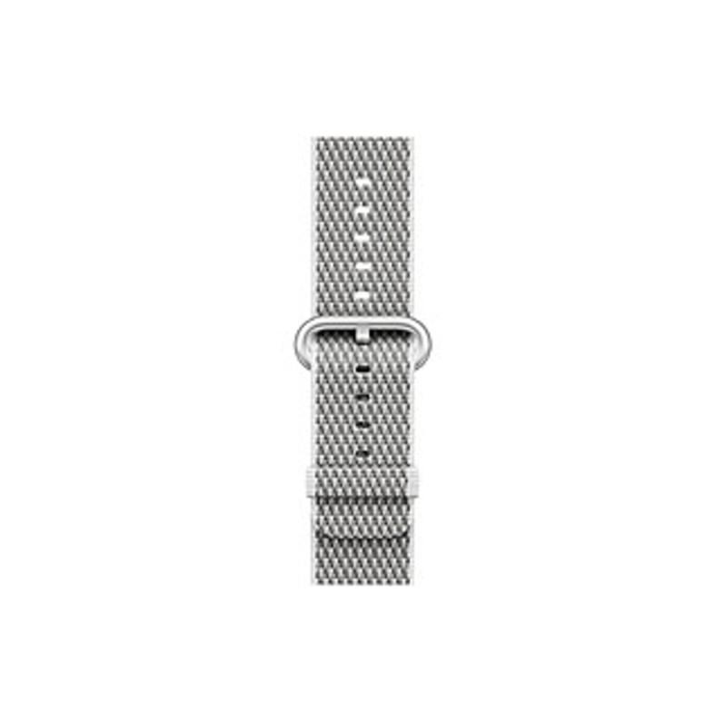 Apple 38mm White Check Woven Nylon - White Check - Woven Nylon