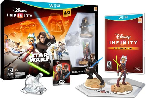 Disney Infinity 712725026745 3.0 Star Wars Gaming Figures Starter Pack - Wii U