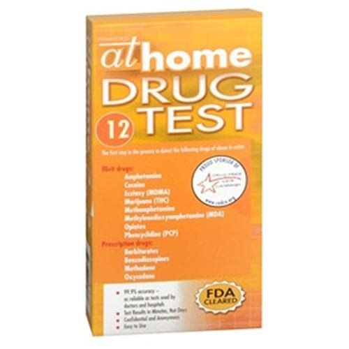 At Home 12 Panel Drug Test, 1 each by At Home