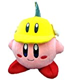 Official Nintendo Kirby Adventure Plush Toy - 6 Kirby Katta (Japanese Import) by Sanei