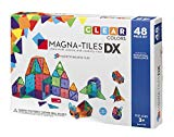 Magna-Tiles Clear Colors 48 Piece Deluxe Set