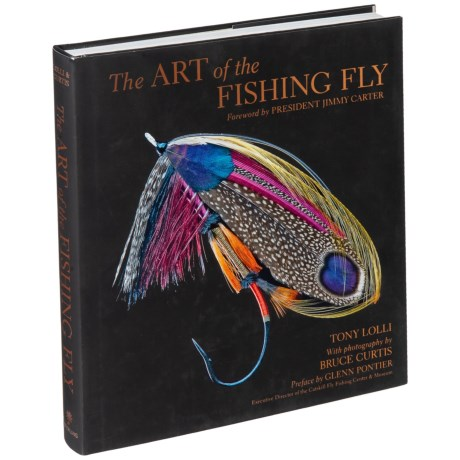 The Art Of The Fishing Fly - Hardcover Book