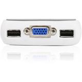 MiniView Micro USB Plus GCS632U - KVM / audio switch - 2 ports - desktop
