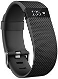Fitbit Charge HR WrstBnd Blk L