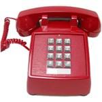 Cortelco Itt-2500-mc-red Desk Phone