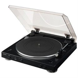 Denon DP-200USB Fully Automatic USB Turntable With Editing Software