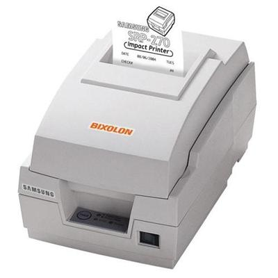 Bixolon-samsung Mini Printers Srp-270cp Srp-270c - Receipt Printer - Two-color (monochrome) - Dot-matrix - Roll (3 In) - 9 Pin - Up To 4.6 Lines/sec - Capacity: