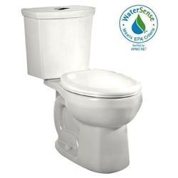 H2Option Right Height Dual Flush Round Toilet - Finish: White