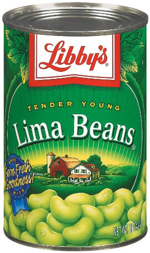 Libby's Lima Beans, 15-Ounce Cans (Pack of 12)