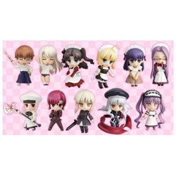 Fate/Hollow Ataraxia Nendoroid Petit Figures (Display of 12) Fate/Hollow Ataraxia