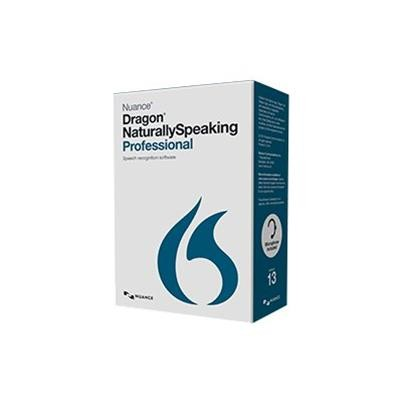 Nuance Communications A209a-s00-13.0 Dragon Naturallyspeaking Professional - ( V. 13 ) - Box Pack - 1 User - Local  State - Dvd - Win - English - United States