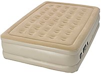 The Serta 047297924855 raised air bed with never flat technology makes getting into and out of bed easier and just might be the most comfortable air bed you have ever slept on