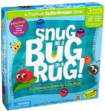 Snug as a Bug in a Rug Cooperative Skills-Builder Game, 10 5/8 x 10 5/8 x 2 1/8- Inch