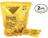 Prince of Peace Instant Ginger Honey Crystals 2 Pack of 30 Bags - 18 g Sachets