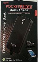 Tzumi Pocket Juice 817243034682 Magnacase/power Bank For Samsung Galaxy S4 - Black