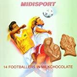 14 Footballers in Milkchocolate